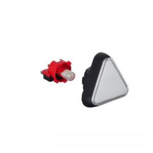 Botón Triangular
